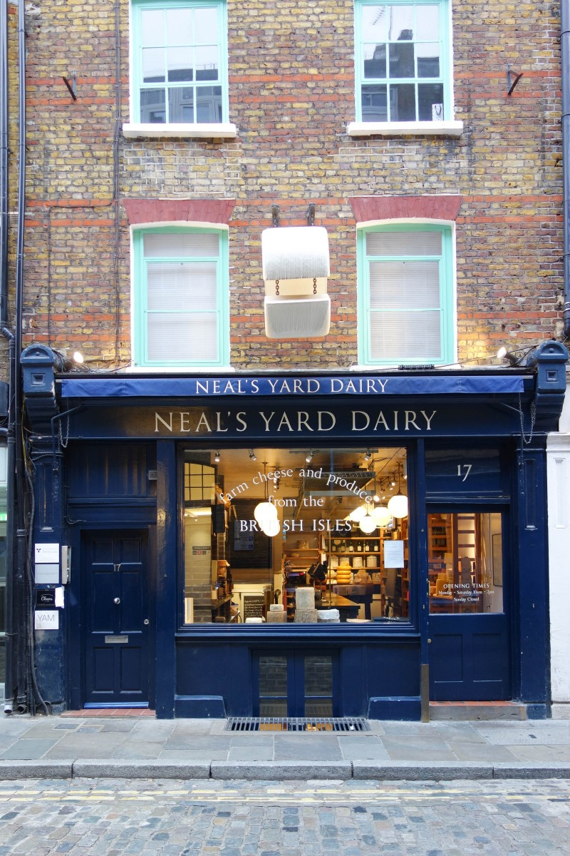 Neals Yard Dairy -  A Guide To Seven Dials : Sponsored By JORD Watches - Unique Wooden Watches