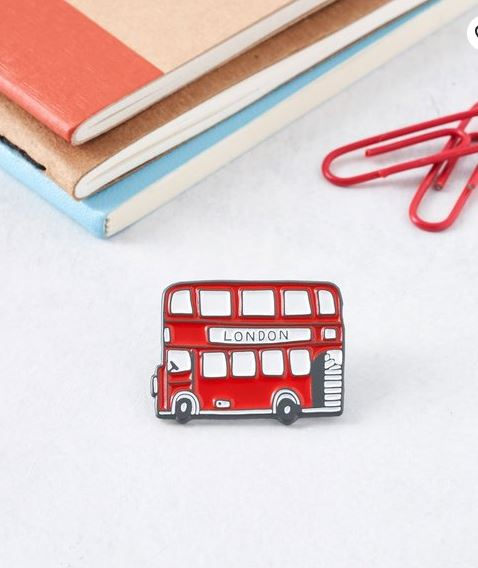 Enamel Pin badges: Gorgeous Gifts For People Who Love London!