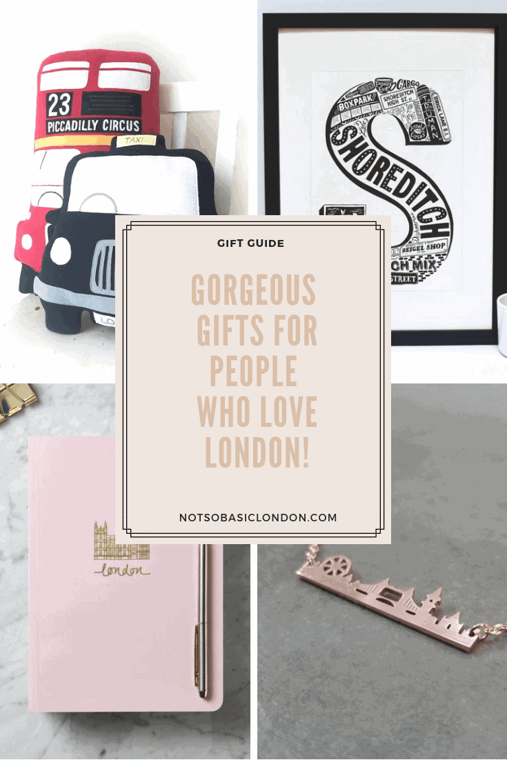 Gorgeous Gifts For People Who Love London!