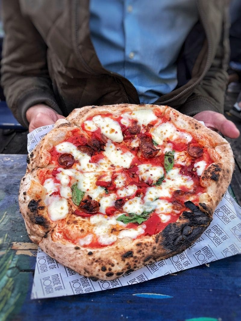 Pizza, Made of Dough - Octobers London Food Finds (2018) : Picks From London's Best Restaurants