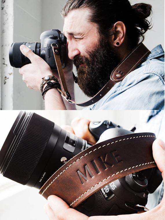 Personalised Camera Neck Strap - Awesome Gift Ideas For Photographers (At All Levels & For All Budgets!)