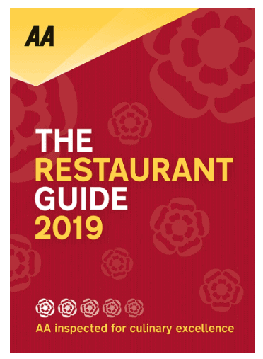 AA The Restaurant Guide 2019: Must-Have Books For People Who Love Eating Out!