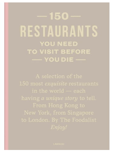 101 Restaurants You Need To Visit Before You Die: Must-Have Books For People Who Love Eating Out!