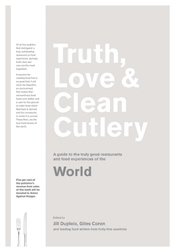 Truth, Love & Clean Cutlery: Must Have Books For People Who Love Eating Out!