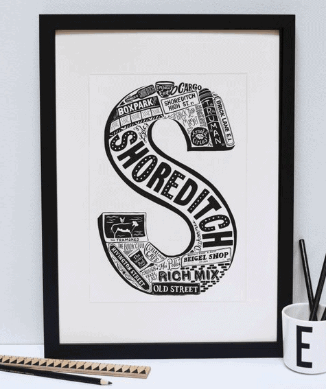 Personalised Area Print: Gorgeous Gifts For People Who Love London!