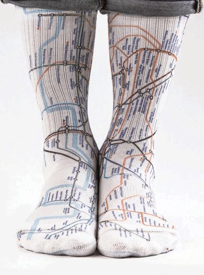 Tube Socks: Gorgeous Gifts For People Who Love London!