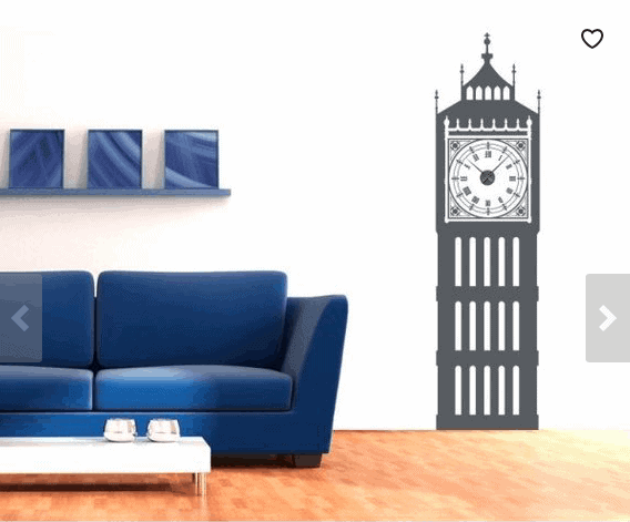 Big Ben Wall Clock: Gorgeous Gifts For People Who Love London!