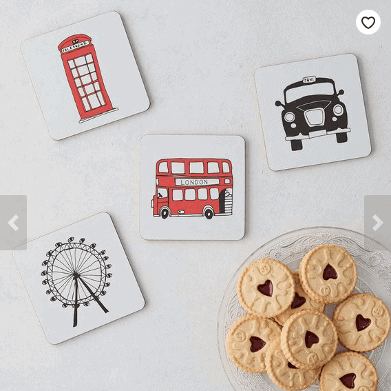 Handmade Coasters: Gorgeous Gifts For People Who Love London!