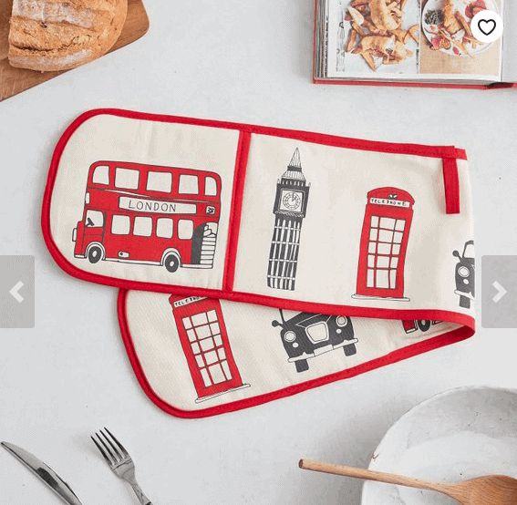 London Oven Gloves: Gorgeous Gifts For People Who Love London!