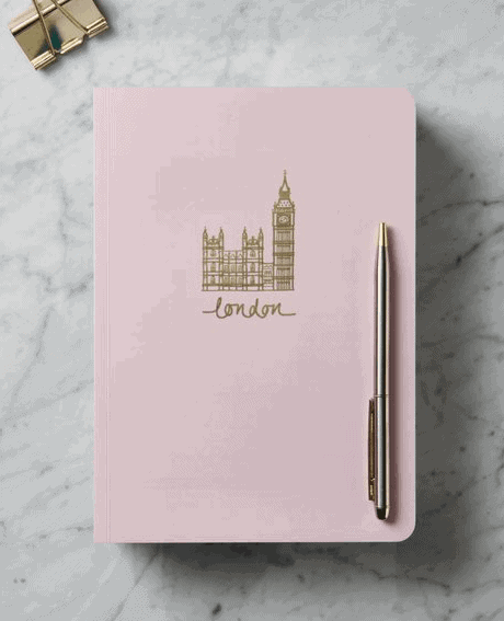 Personalised Notepad: Gorgeous Gifts For People Who Love London!