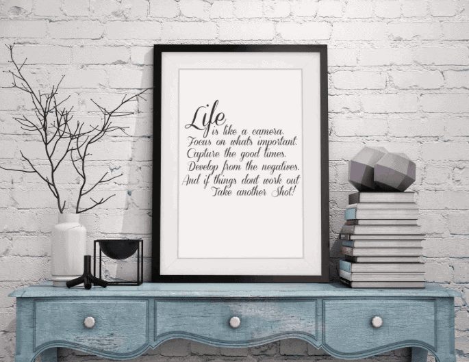 Camera Quote Print - Awesome Gift Ideas For Photographers (At All Levels & For All Budgets!)