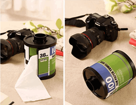 Camera Film Toilet Roll Holder - Awesome Gift Ideas For Photographers (At All Levels & For All Budgets!)