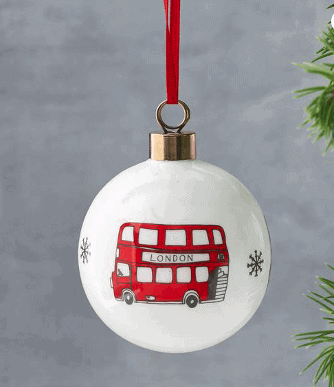 Beautiful London Bauble: Gorgeous Gifts For People Who Love London!