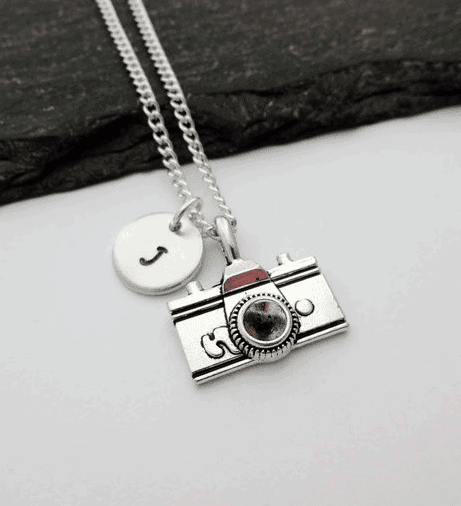 Personalised Camera Necklace - Awesome Gift Ideas For Photographers (At All Levels & For All Budgets!)