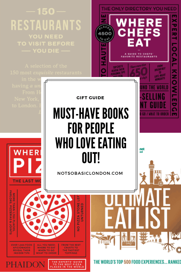 Must-Have Books For People Who Love Eating Out!