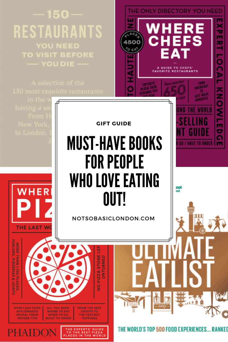 Must Have Books For People Who Love Eating Out!