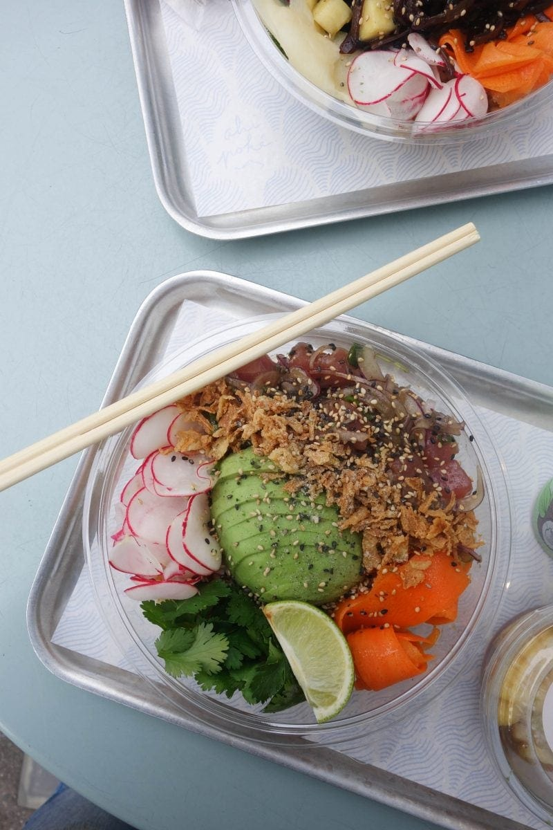 Ahi Poke - Table For One: London's Best Places To Dine Alone (& How To Do it Well!)
