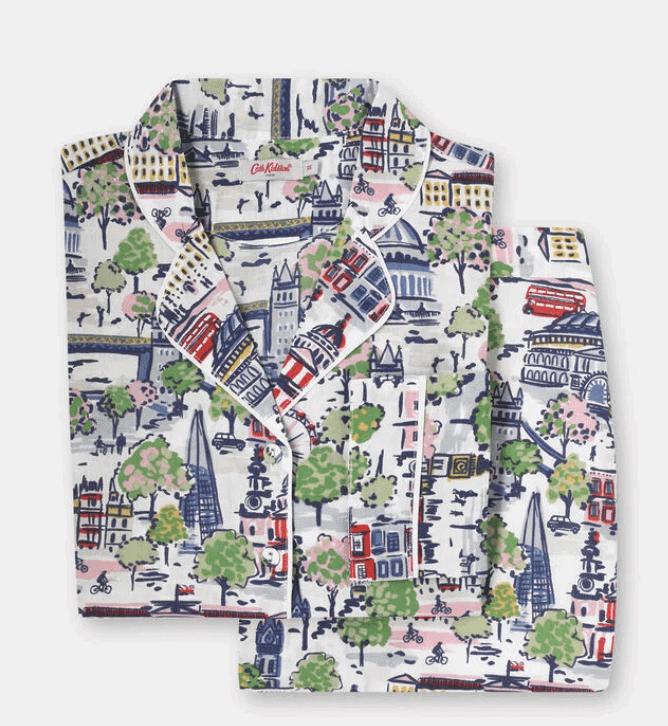 32 London Themed Gift Ideas (Picture of Kath Kidston London Pajamas)