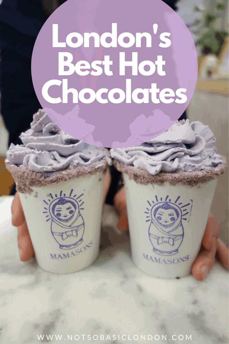 London's Best Hot Chocolates | 18 Great Places