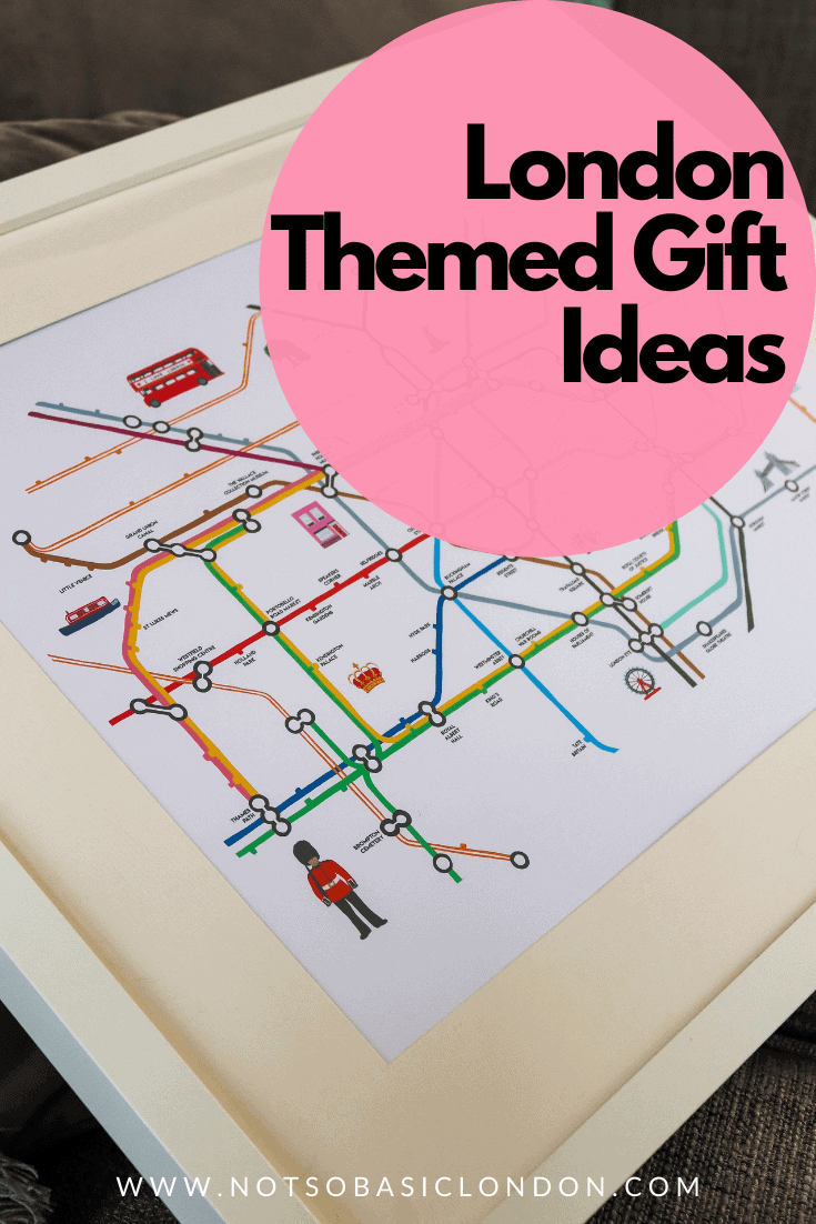 30 London Themed Gift Ideas | Gift Guide