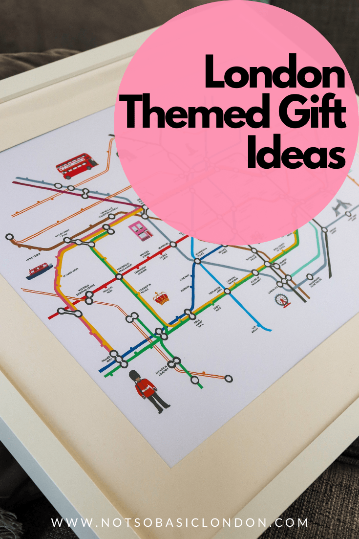 32 London Themed Gift Ideas | Gift Guide