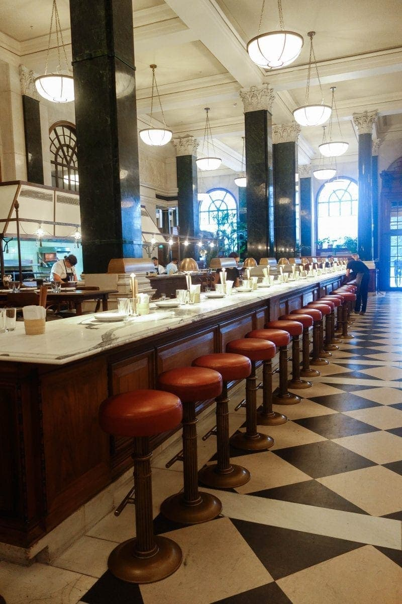 The Ned - Table For One: London's Best Places To Dine Alone (& How To Do it Well!)