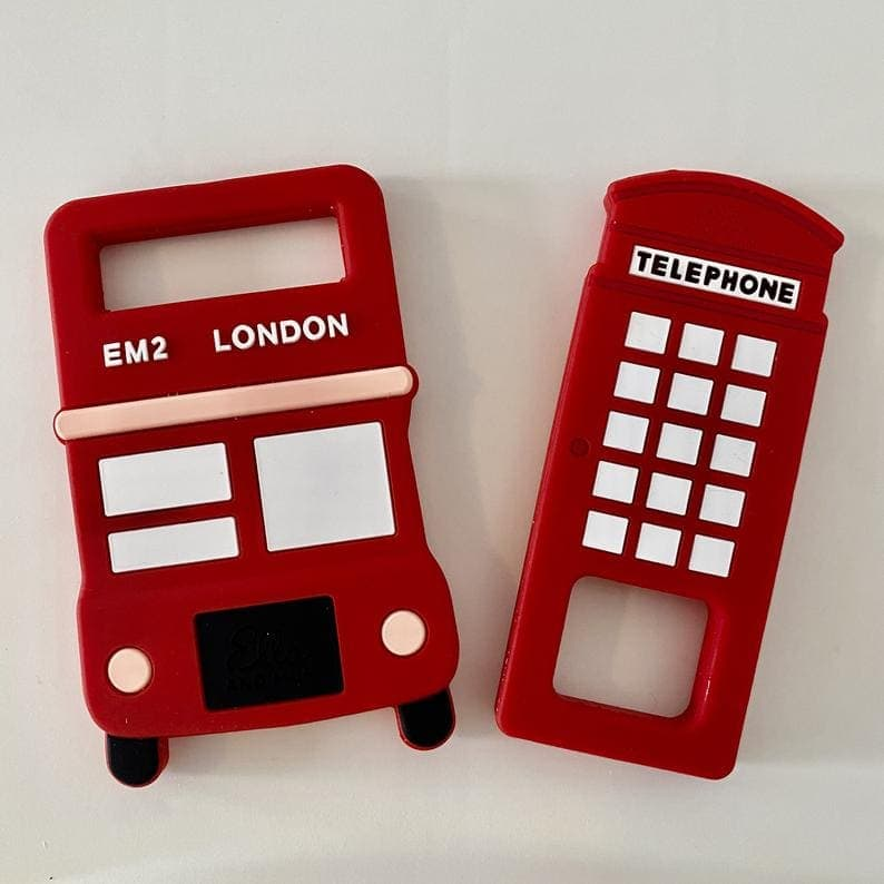32 London Themed Gift Ideas (Photo of London baby teethers)