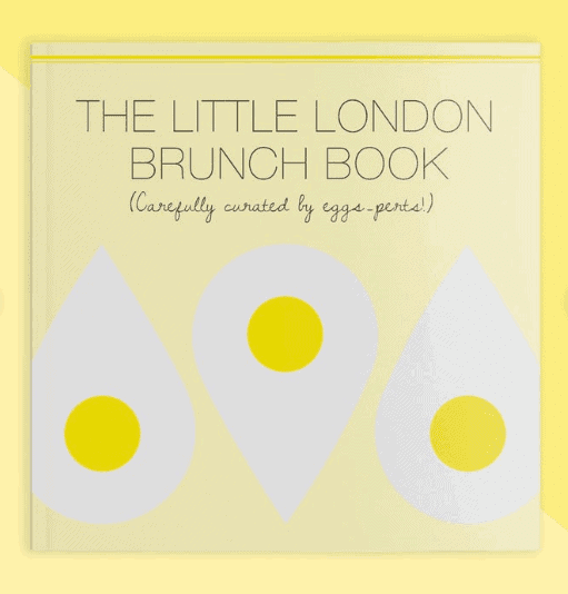 The Little London Brunch Book:: Must-Have Books for People Who Love Eating Out in London #london #londonfood #giftguide #giftlist #books