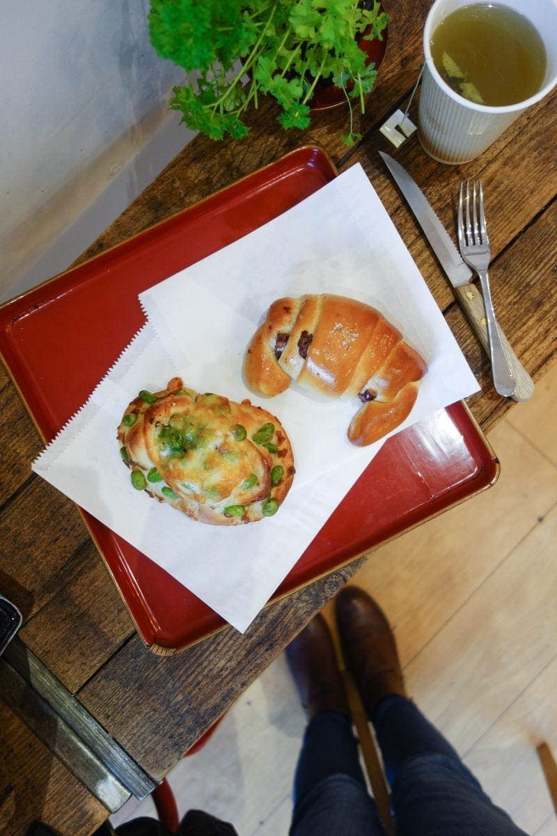 Best Breakfast & Brunch In West London (Image of breakfast at Happy Sky Bakery)