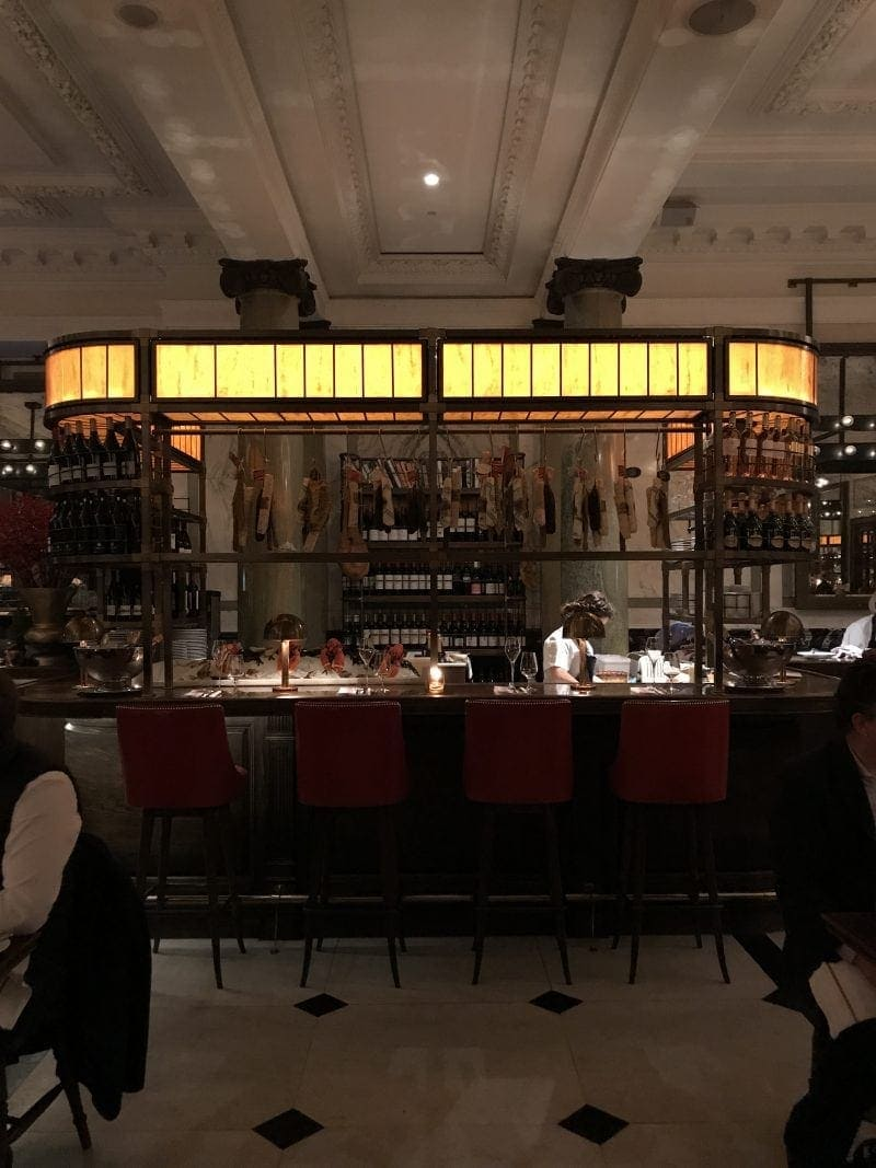 Holborn Dining Rooms - Decembers London Food Finds (2018) : Picks From Londons Best Restaurants.