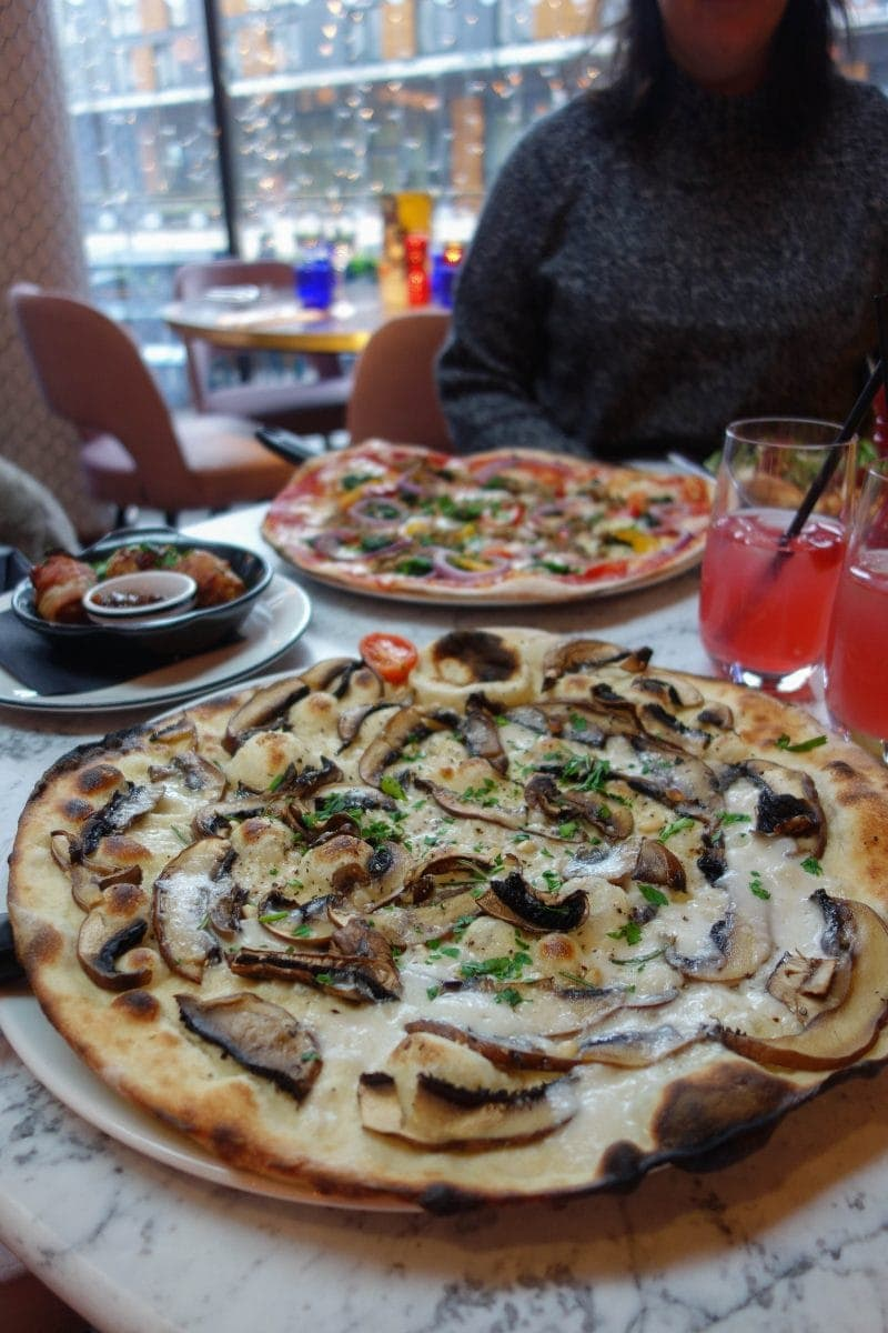 Pizza Express - Decembers London Food Finds (2018) : Picks From Londons Best Restaurants.