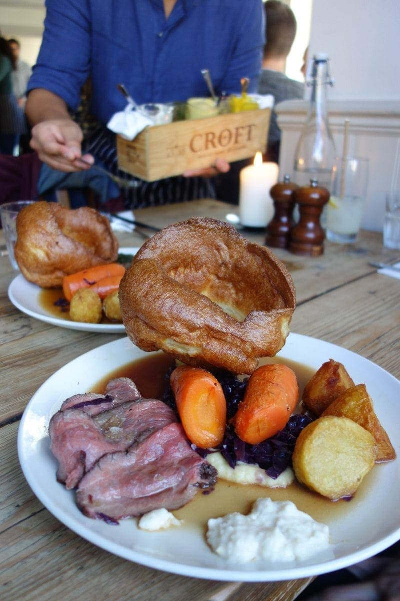 Sunday Roast, Smokehouse - November's London Food Finds (2018) : Picks From London's Best Restaurants.