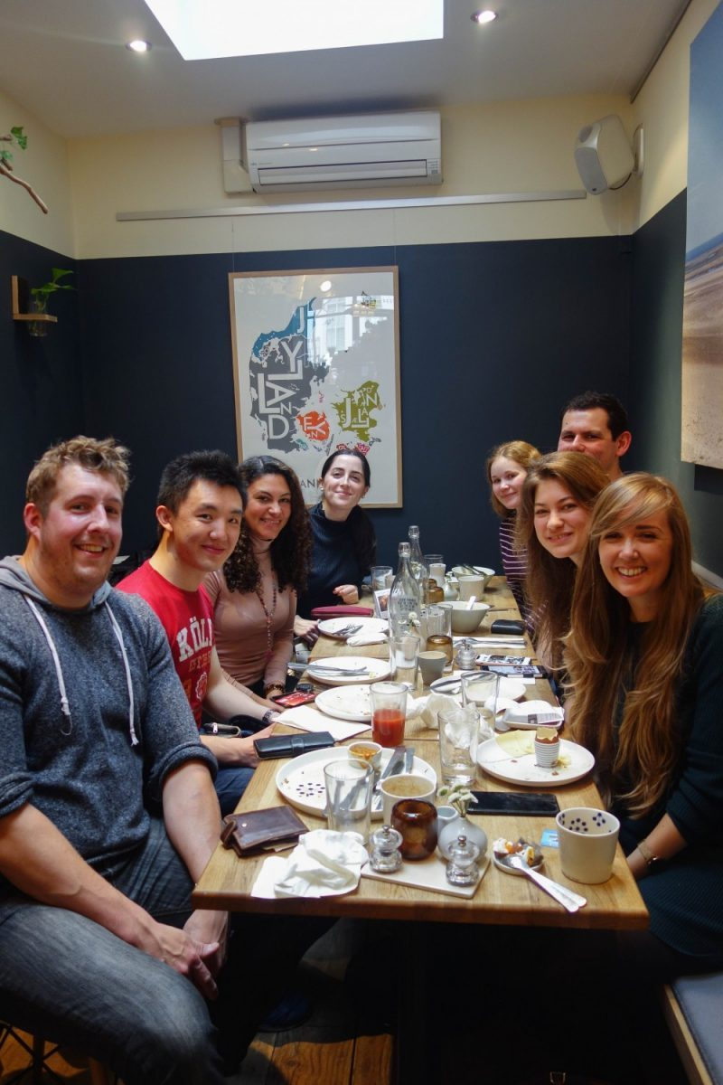Snaps and Rye - A Year of The London Food Social 2018