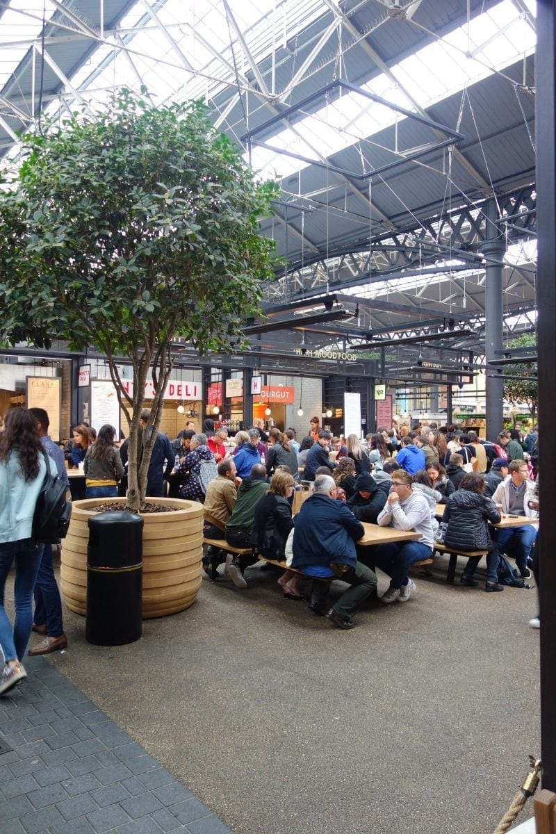 Spitalfields Market - A Year of The London Food Social 2018