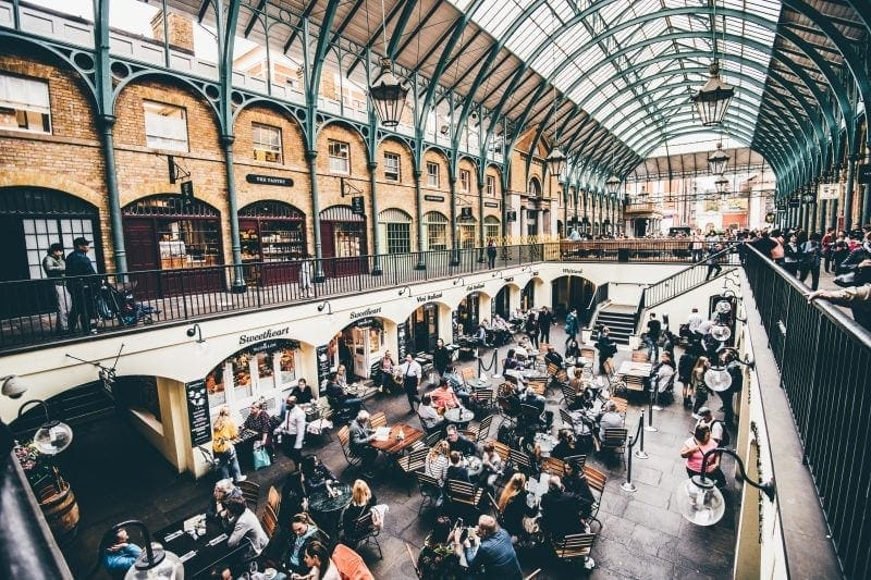 Covent Garden - How To Have The Perfect Day in London For Under £20!