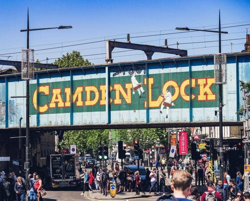 Camden Market - How To Have The Perfect Day in London For Under £20!