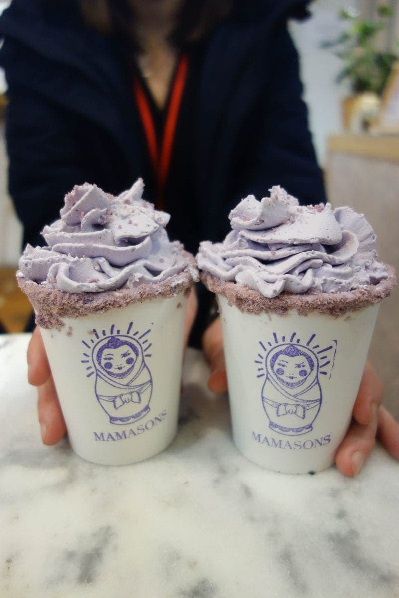 Mamasons Dirty Ice-cream - Drool Worthy Dessert Spots You Must Visit in Chinatown, London
