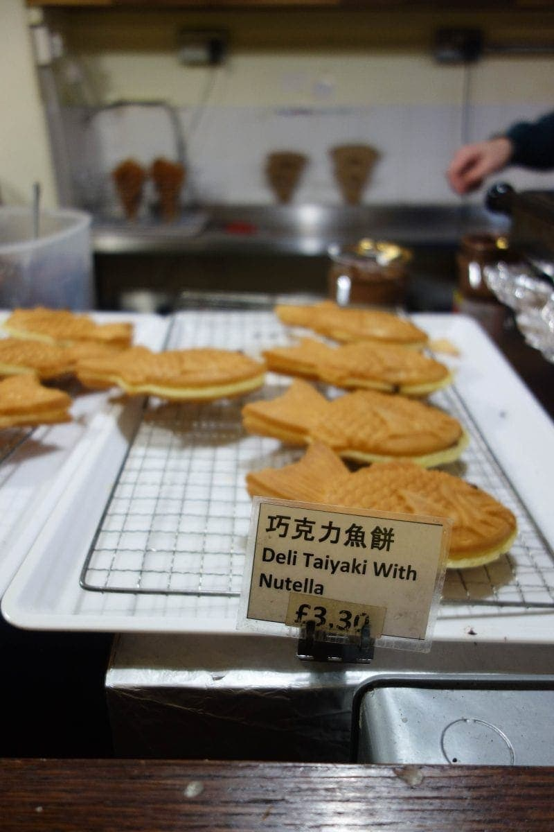 Nutella Taiyaki, BAKE - Where To Eat in London if You're Nutty for Nutella!