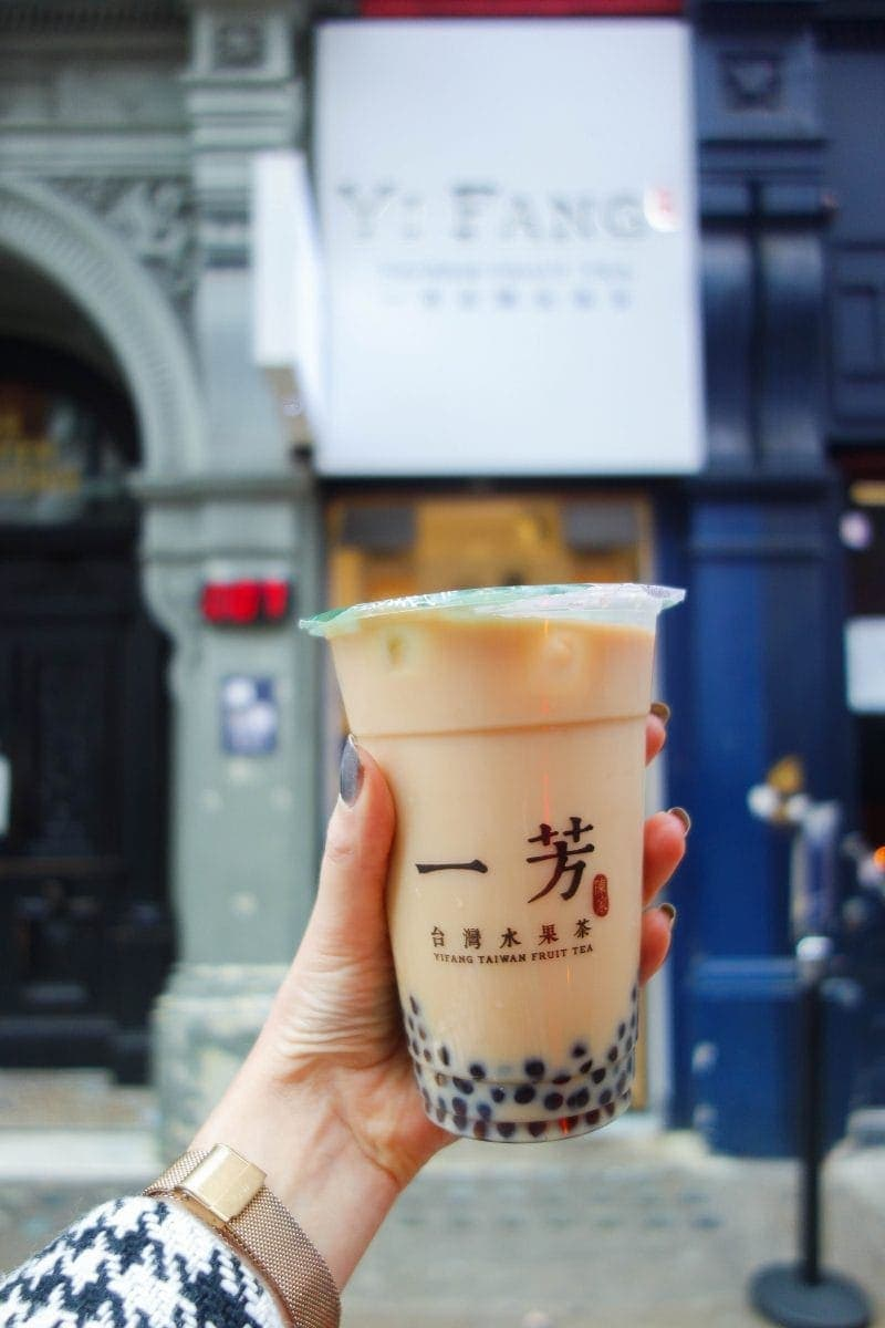 Yi Fang Fruit Tea - Drool Worthy Dessert Spots You Must Visit in Chinatown, London