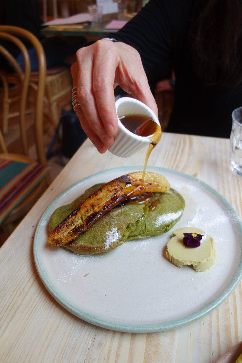 Matcha Pancakes, Avobar - Where To Eat London's Most Delicious Pancakes