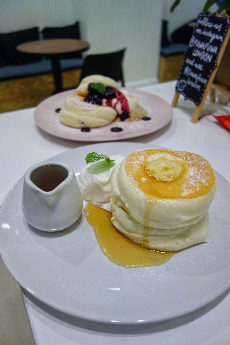 Japanese Souffle Pancakes, Fuwa Fuwa - Where To Eat London's Most Delicious Pancakes