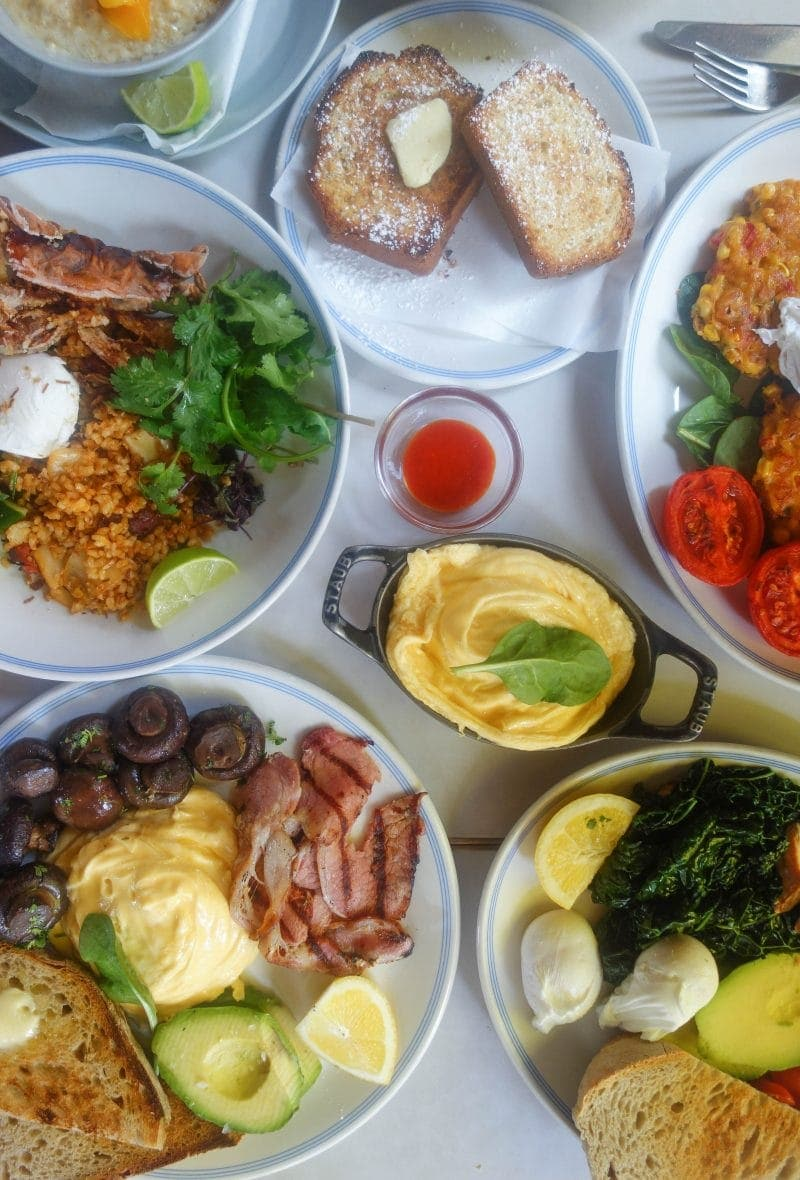 Best Breakfast & Brunch In West London (Image of breakfast from Granger & Co, Notting Hill)