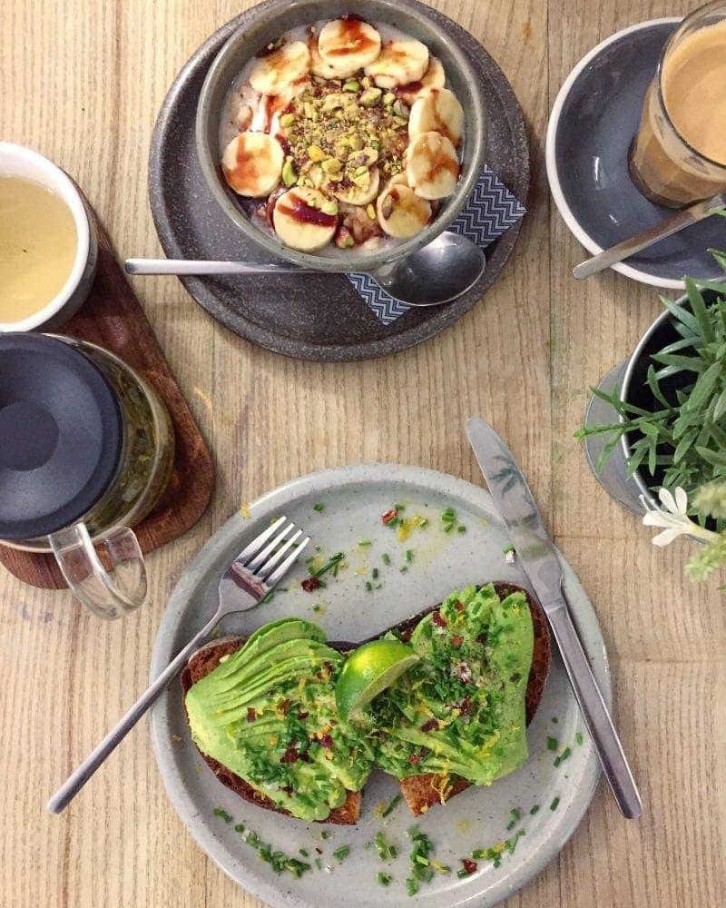 Best Breakfast & Brunch in Central London (Image of breakfast at Lundenwic)