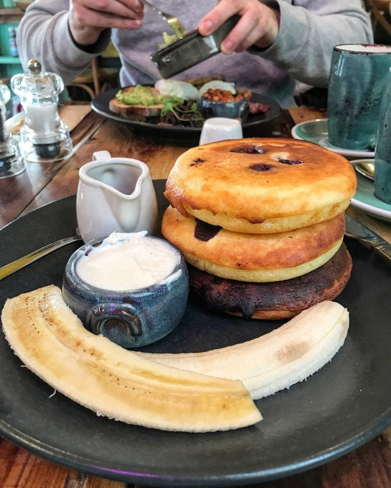 Best Breakfast & Brunch In West London (Image of pancakes from Proud Mary's)