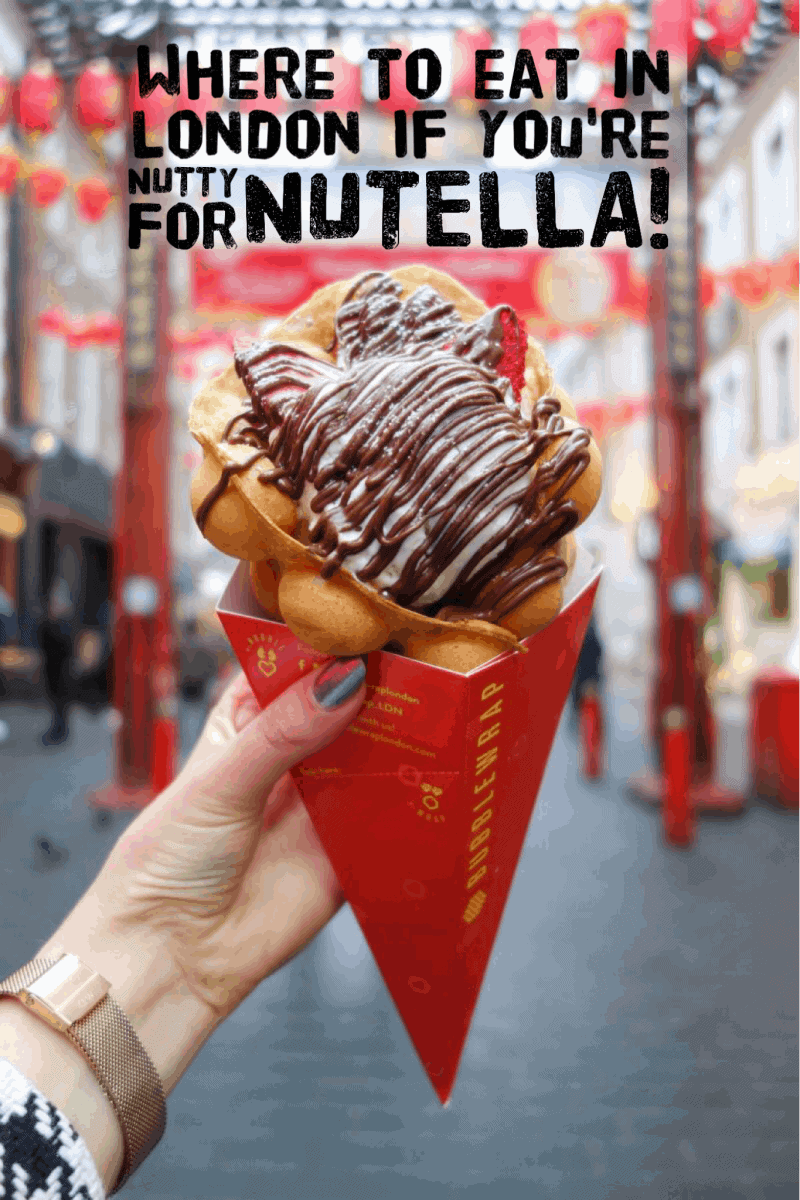 Where To Eat in London if You're Nutty for Nutella!