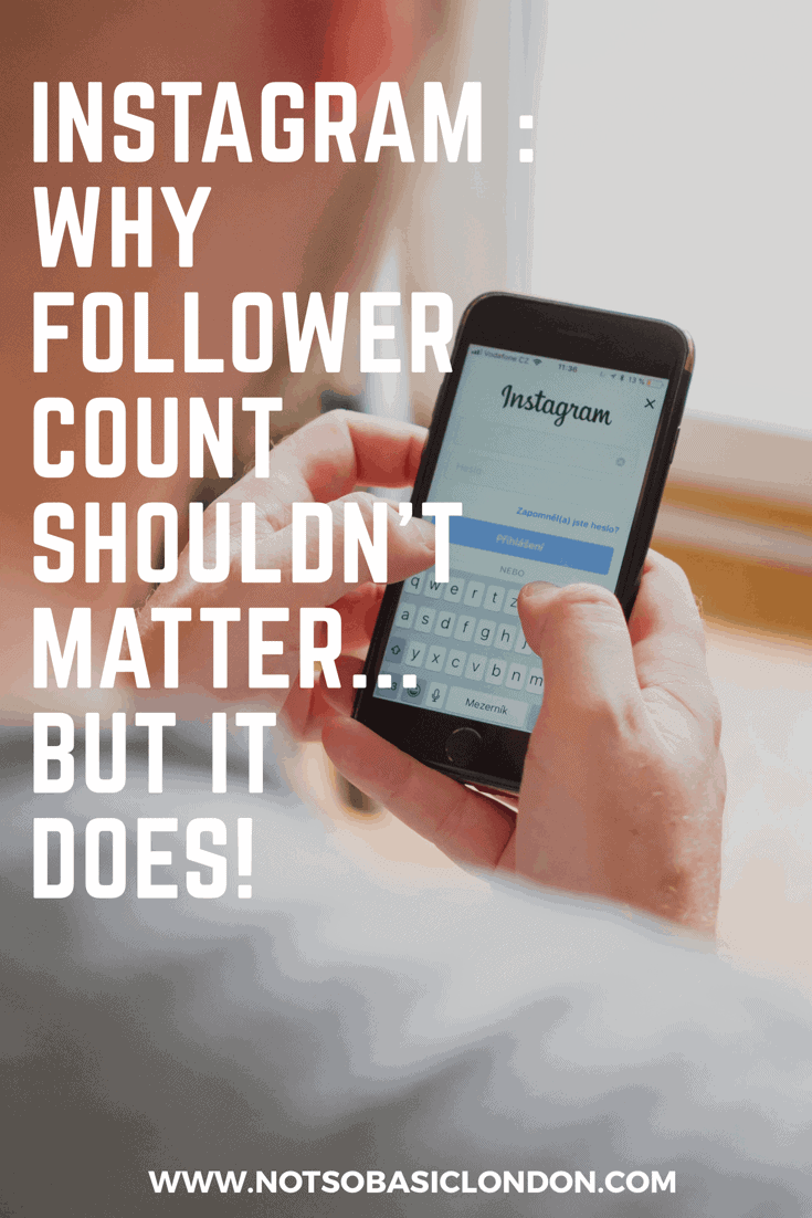 Instagram: Why Follower Count Shouldn't Matter … But It Does!