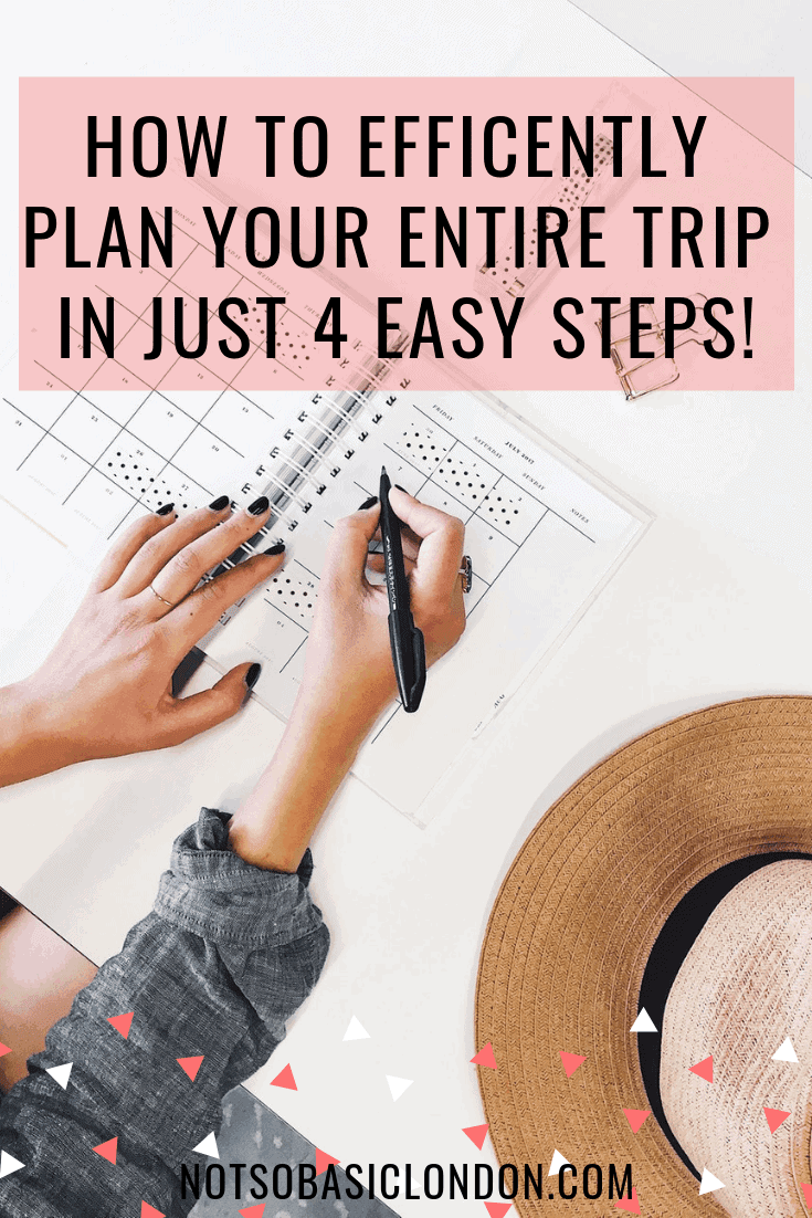 How To Efficiently Plan Your Entire Trip in Just 4 Easy Steps!