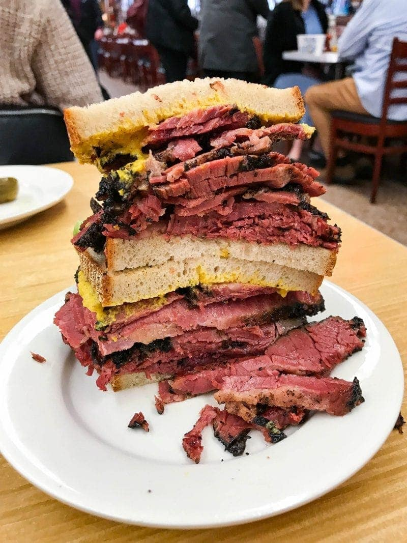 Katz Delicatessen - 18 Must Eat Places in NYC For A First Timer!