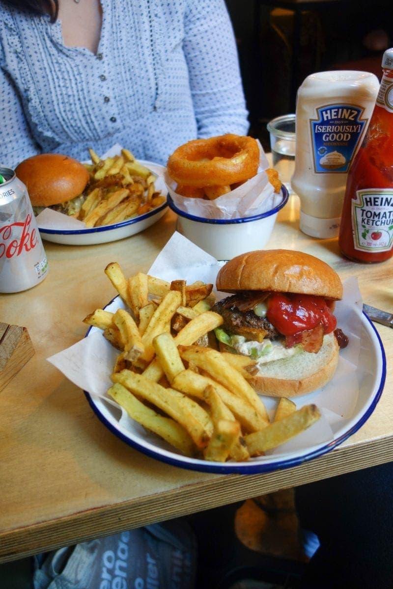 Honest Burger - April's London Food Finds (2019) : Picks From London's Best Restaurants