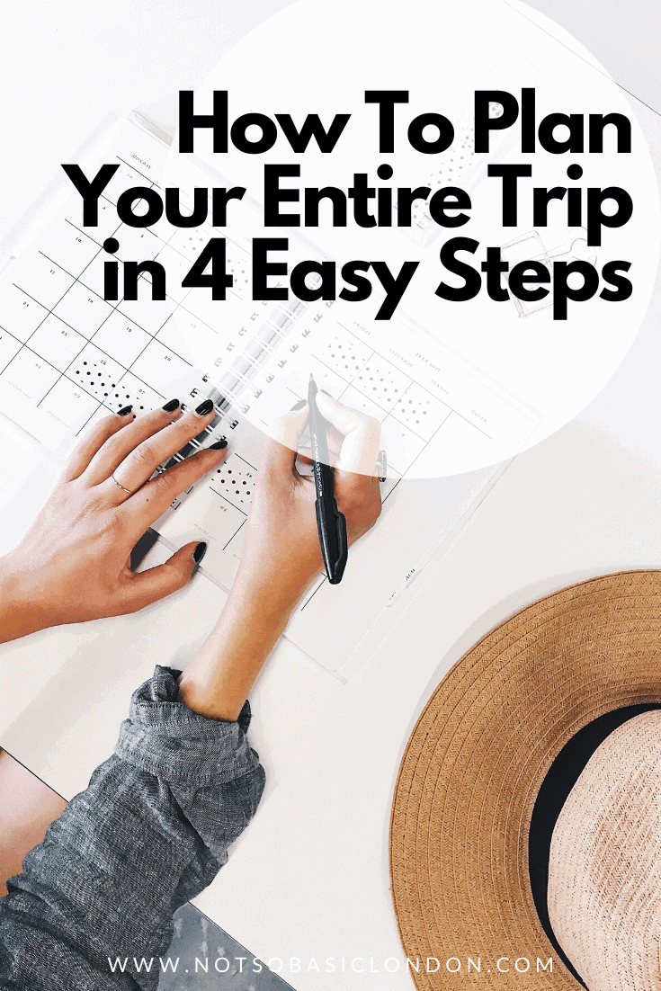How To Plan Your Entire Trip in Just 4 Easy Steps!